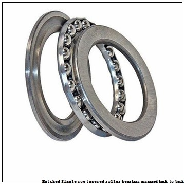skf 33111T88/DB Matched Single row tapered roller bearings arranged back-to-back