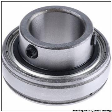 22.22 mm x 62 mm x 38 mm  SNR UC305-14G2T04 Bearing units,Insert bearings