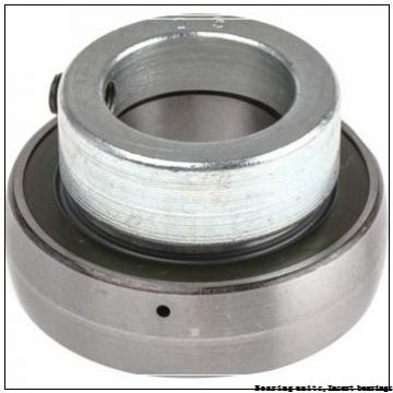 68.26 mm x 125 mm x 74.6 mm  SNR UC.214-43.G2 Bearing units,Insert bearings
