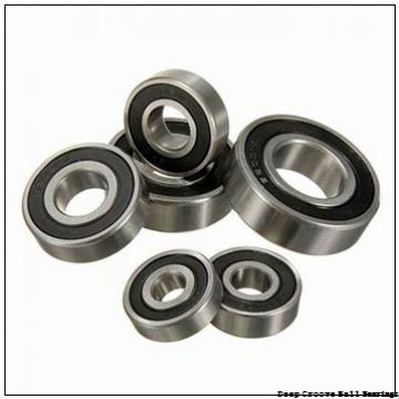 6 mm x 19 mm x 6 mm  skf 626-RSH Deep groove ball bearings