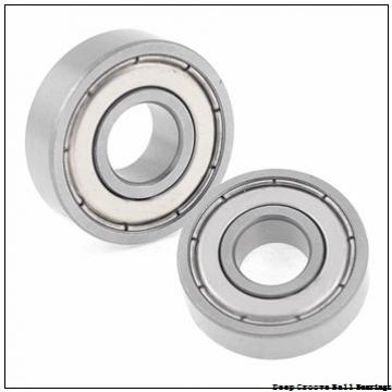 12.7 mm x 22.225 mm x 5.558 mm  skf D/W R6-5 Deep groove ball bearings