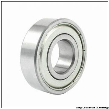 6.35 mm x 12.7 mm x 4.762 mm  skf D/W R188 R-2Z Deep groove ball bearings