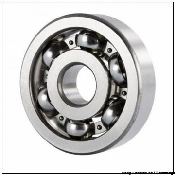 90 mm x 190 mm x 43 mm  skf 318 Deep groove ball bearings