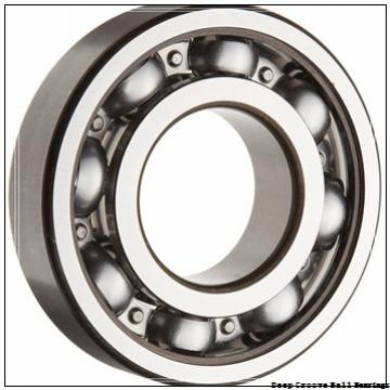 2 mm x 6 mm x 2.5 mm  skf W 619/2 X-2Z Deep groove ball bearings