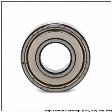 timken 6017-NR-C3 Deep Groove Ball Bearings (6000, 6200, 6300, 6400)