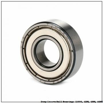 timken 6007-RS-C3 Deep Groove Ball Bearings (6000, 6200, 6300, 6400)