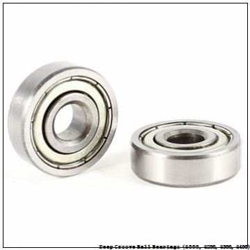timken 6000-2RS-NR Deep Groove Ball Bearings (6000, 6200, 6300, 6400)