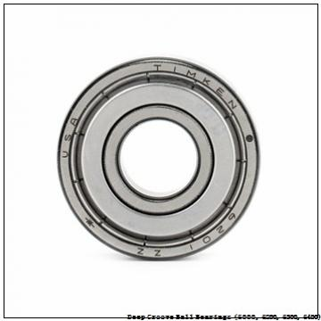 timken 6008-2RZ-NR Deep Groove Ball Bearings (6000, 6200, 6300, 6400)