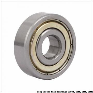 90 mm x 160 mm x 30 mm  timken 6218-2RS-C3 Deep Groove Ball Bearings (6000, 6200, 6300, 6400)