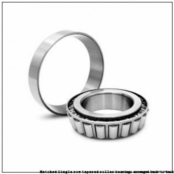 skf 32010T50 X/DB Matched Single row tapered roller bearings arranged back-to-back