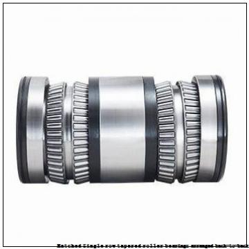 skf 32220T107/DB Matched Single row tapered roller bearings arranged back-to-back