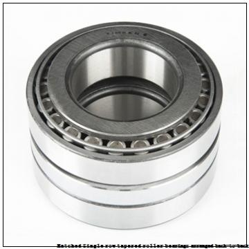 skf 32048T164 X/DB Matched Single row tapered roller bearings arranged back-to-back