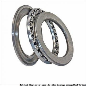skf 32217T87/DB Matched Single row tapered roller bearings arranged back-to-back