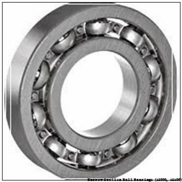 timken 16100-ZZ-C3 Narrow Section Ball Bearings (16000, 16100)
