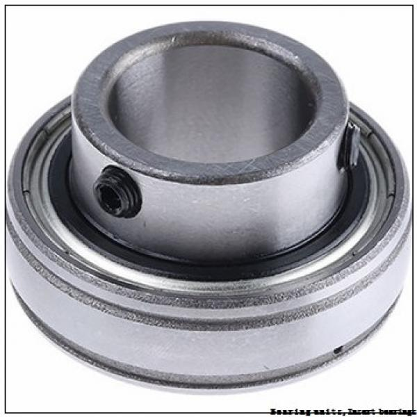 42.86 mm x 100 mm x 57 mm  SNR UC309-27G2T04 Bearing units,Insert bearings #1 image